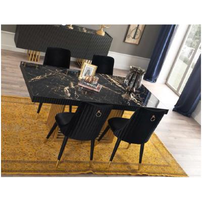 Akustik Black Dining Set