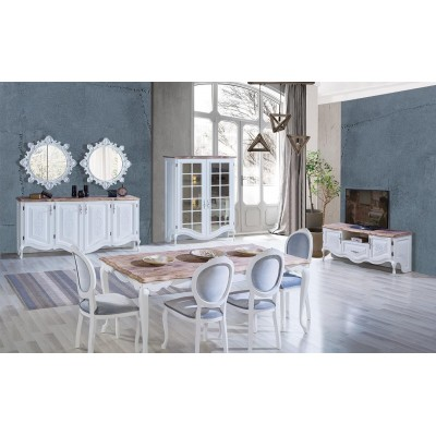Bronz Country Dining Set