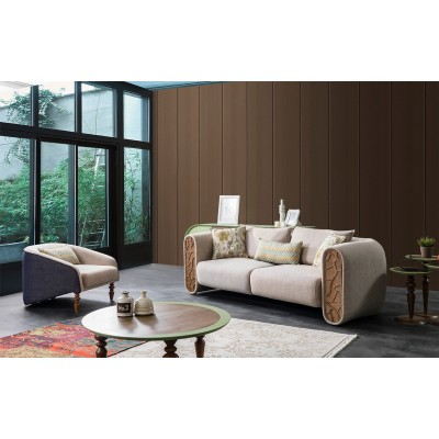 Legno Sofa Set