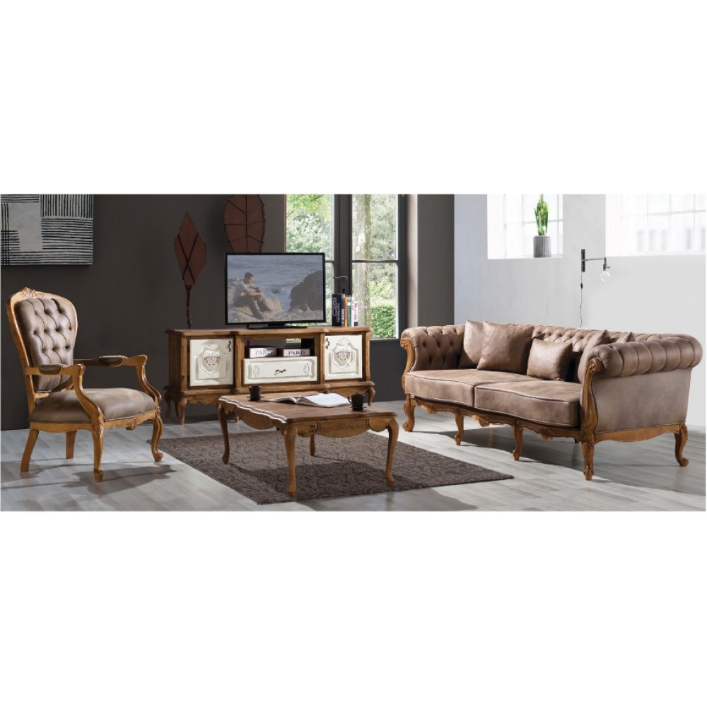 Retro Country Sofa Set