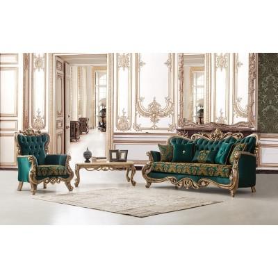 Emerald Classic Sofa