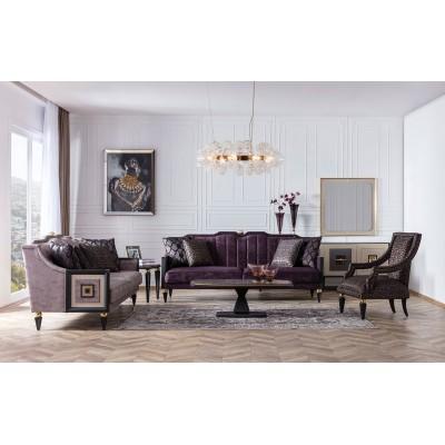 Gold Art Deco Sofa Set