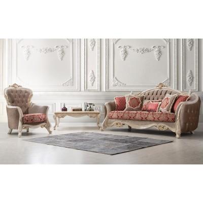Maria Red Classic Sofa