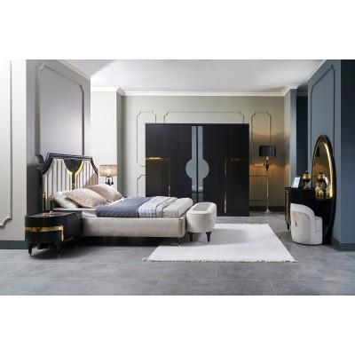 ARYA BLACK Bedroom Set