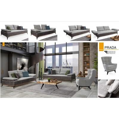 PRADA L Sofa Set